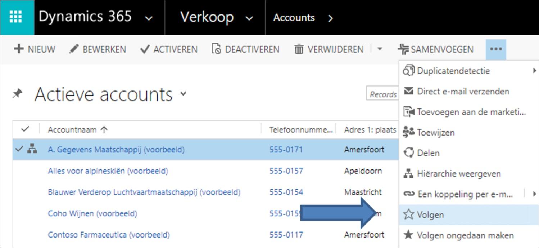Microsoft Dynamics 365/CRM