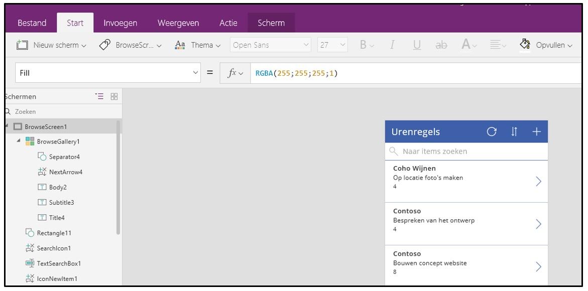 PowerApps voor SharePoint en Dynamics 365/CRM