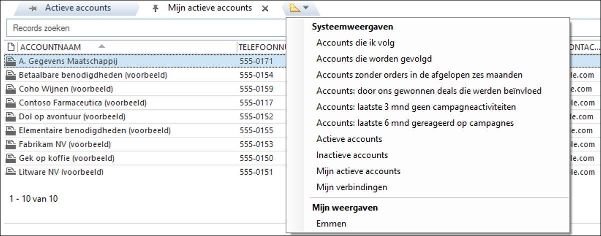 Microsoft Dynamics 365 CRM voor Outlook handleiding
