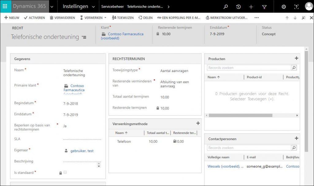 sla's in Microsoft Dynamics 365 CRM