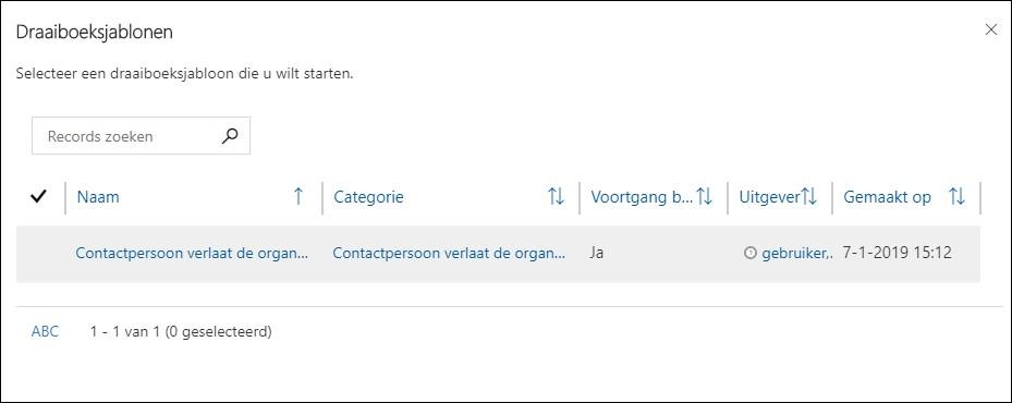 Draaiboeken in Microsoft Dynamics 365 CRM