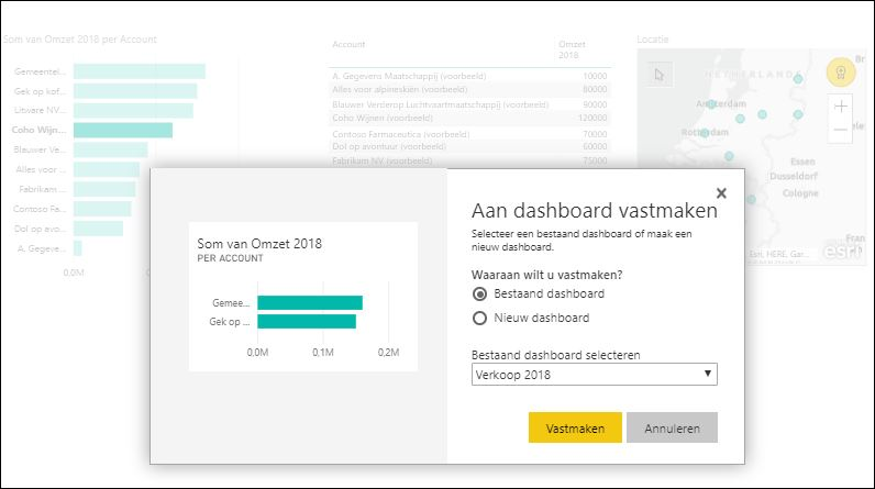 power bi dashboard maken
